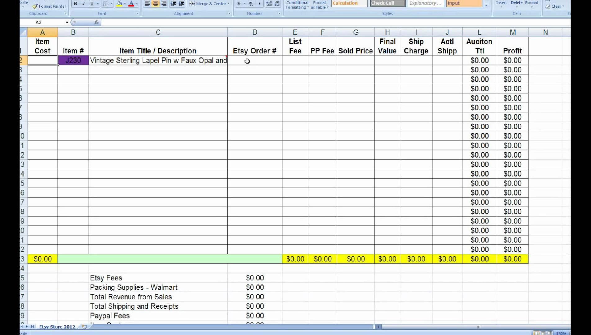Free Excel Inventory Spreadsheet Regarding Small Business Inventory Spreadsheet Template  Homebiz4U2Profit