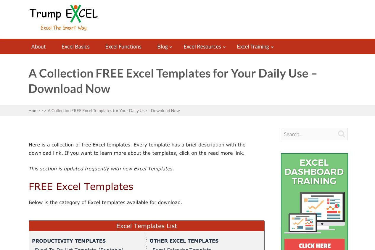Free Excel Spreadsheet Templates Throughout Hundreds Of Free Excel Templates