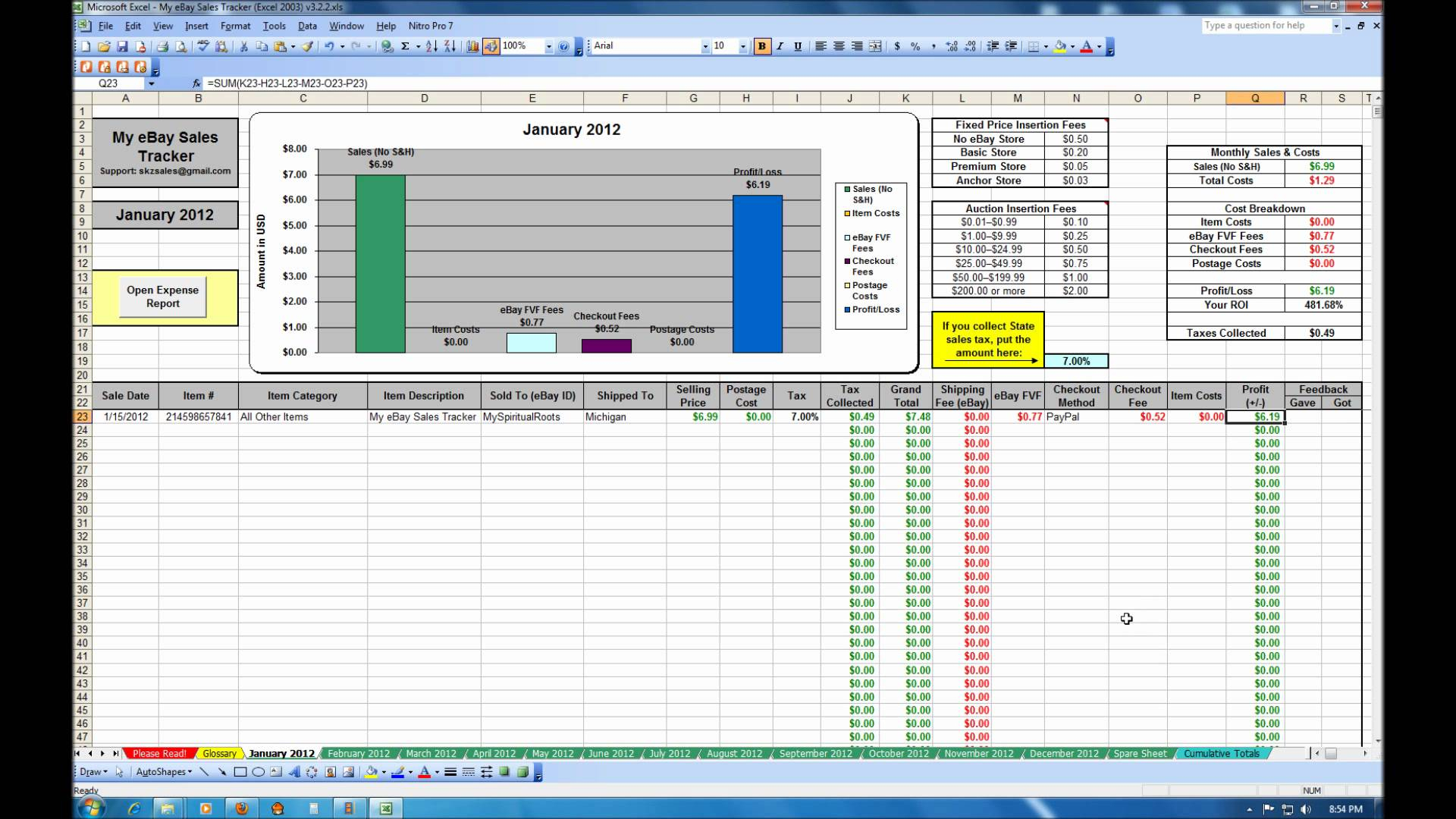 Free Excel Stock Tracking Spreadsheet Within Freel Stock Tracking Spreadsheet Inventory Control Format In Sheet
