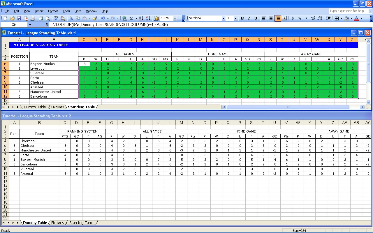Free Football Pontoon Spreadsheet Intended For Create Your Own Soccer League Fixtures And Table  Excel Templates