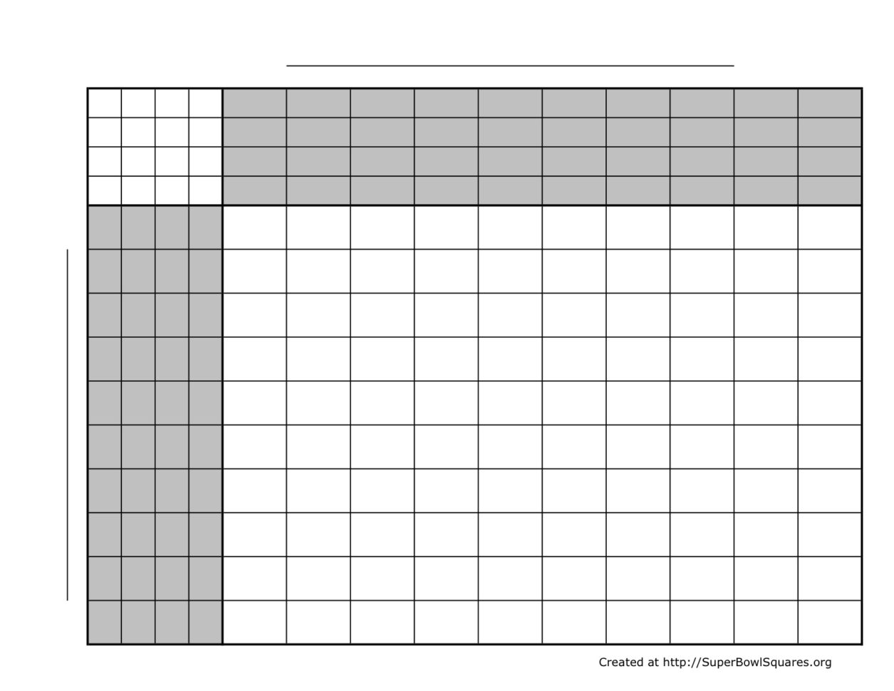 Free Football Pontoon Spreadsheet Within Printable Football Squares Sheets