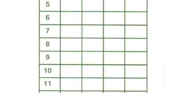 Free Golf League Excel Spreadsheet In Golf Scorecard Template Free Pictures >> Unique Golf Scorecard