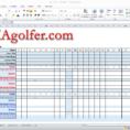 Free Golf League Excel Spreadsheet Intended For Imagolfer  Golf League Management Website