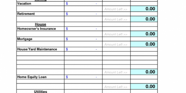 Free Home Accounts Spreadsheet Pertaining To 012 Template Ideas Free Household Budget Monthl Spreadsheet