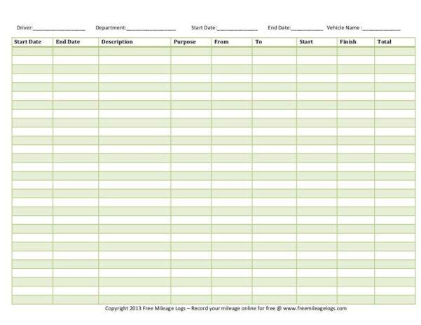 Free Ifta Mileage Spreadsheet Throughout Ifta Spreadsheet Mileage Sheet Free Excel Sample Worksheets