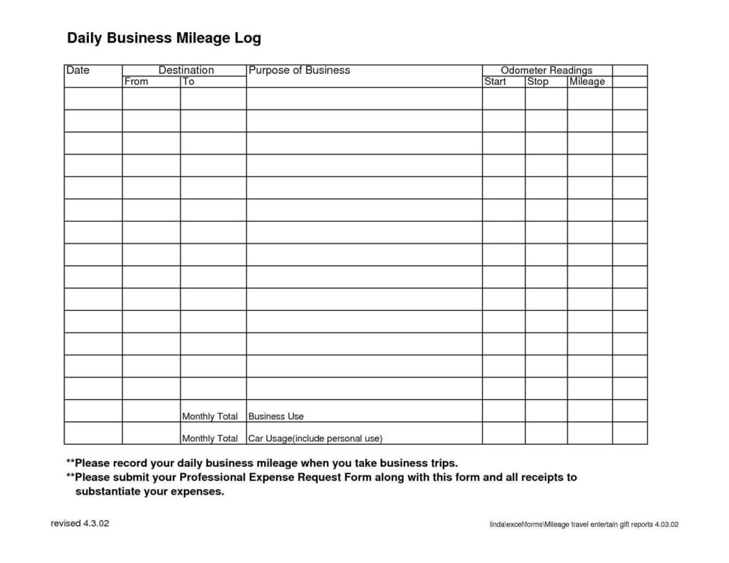 Free Ifta Mileage Spreadsheet With Ifta Spreadsheet Free Mileage Excel Sheet And Sample Worksheets