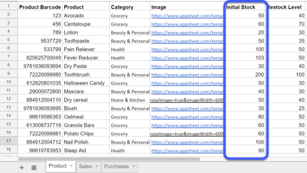 Free Inventory Spreadsheet Template Google Sheets Inside How To Turn Google Sheets Into An Inventory Management App