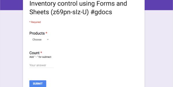 Free Inventory Spreadsheet Template Google Sheets Regarding Top 5 Free Google Sheets Inventory Templates · Blog Sheetgo