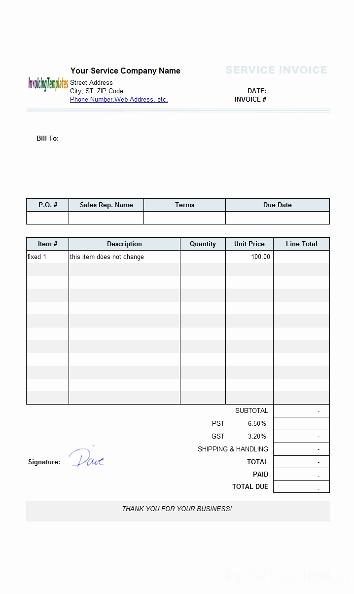 Free Invoice Spreadsheet Regarding Free Invoice Templates For Microsoft Word Of Microsoft Fice Receipt
