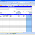 Free Mileage Log Spreadsheet With Free Mileage Log Template For Excel 2007 – 2016 – Template Wave