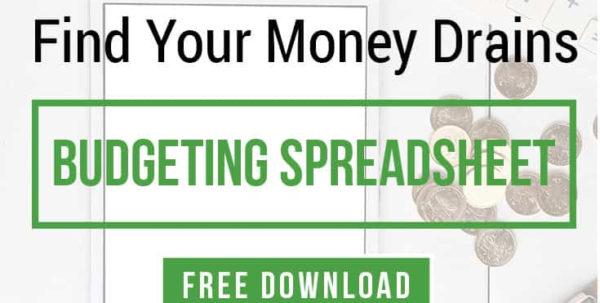 Free Money Saving Spreadsheet Regarding Budget Template  Customizable Worksheet Download