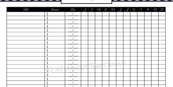 Free Monthly Bill Organizer Spreadsheet For Best Photos Of Monthly Bill Spreadsheet Template Excel Bills  Wine