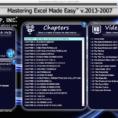Free Online Excel Spreadsheet Inside Excel Training Tutorial Free Online For Excel 2013
