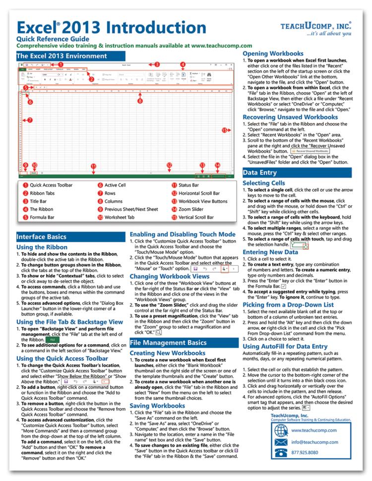 Free Online Excel Spreadsheet Tutorial Pertaining To Excel Training Tutorial Free Online For Excel 2013