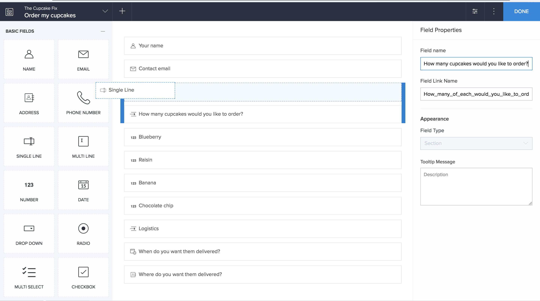Free Online Spreadsheet Database Intended For Free Database Builder  Create Your Own Online Database  Zoho Creator