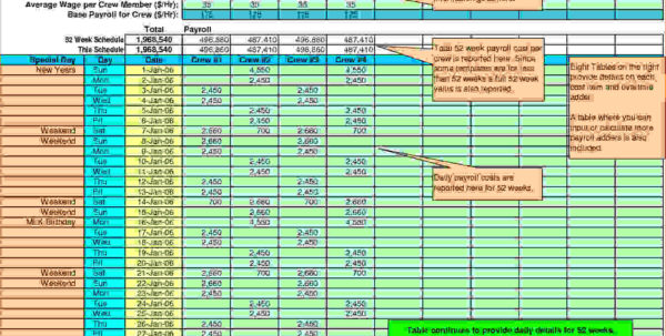 Free Payroll Spreadsheet In Pto Calculator Spreadsheet Inspirational Free Payroll Example