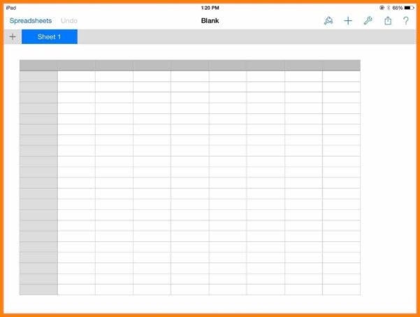 Free Printable Blank Spreadsheet With 5  Free Printable Blank Spreadsheet  Credit Spreadsheet