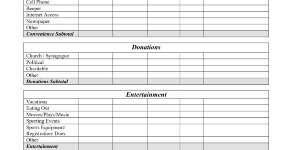 Free Printable Spreadsheet For Bills Pertaining To Free Financial Spreadsheet And Free Printable Monthly Bud Worksheet