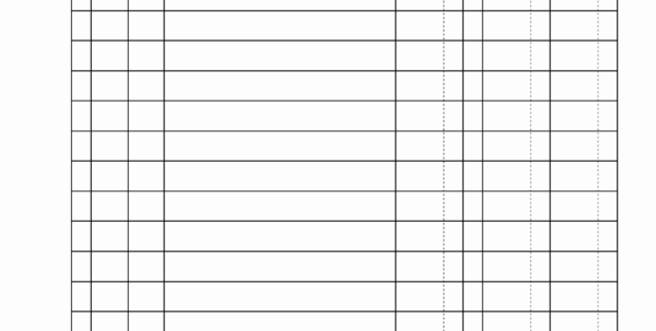 Free Printable Spreadsheet Paper In 010 Trucking Spreadsheets Free New General Ledger Template Printable