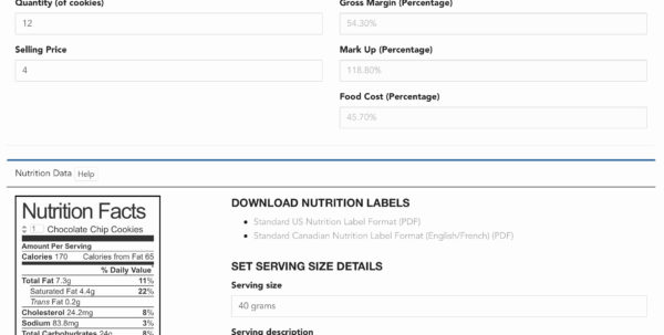 Free Recipe Costing Spreadsheet Regarding Food Cost Spreadsheet Awesome Food Drive Worksheet Refrence 19