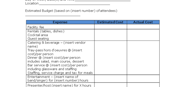 Free Restaurant Budget Spreadsheet With Free Restaurant Operating Budget  Templates At Allbusinesstemplates