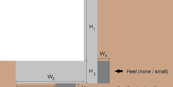 Free Retaining Wall Design Spreadsheet For Design Of A Retaining Wall Free Spreadsheets – Spreadsheet Collections