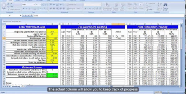 Free Retirement Excel Spreadsheet Pertaining To Retirement Savings Calculator Spreadsheet And Free Retirement Excel