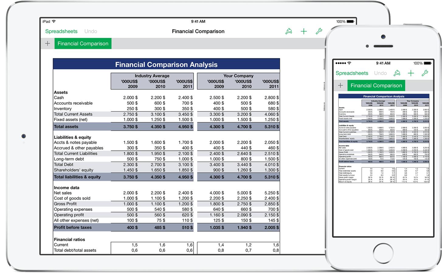 Free Spreadsheet App For Ipad Within Free Spreadsheet For Ipad  Aljererlotgd