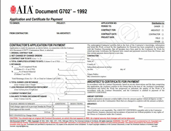 Free Spreadsheet Application Intended For Aia G702 Form Blank Free And Application For Payment Template Free