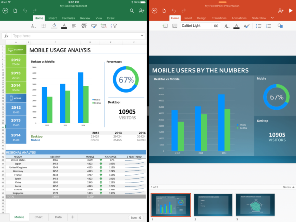 Free Spreadsheet For Ipad Compatible With Excel Inside Microsoft Office Apps Are Ready For The Ipad Pro Microsoft 365 Blog