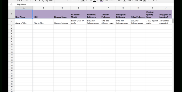 Free Spreadsheet For Pc Intended For 15 New Social Media Templates To Save You Even More Time