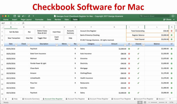 Free Spreadsheet Program Inside Free Spreadsheet Program For Mac Then Free Checkbook Register