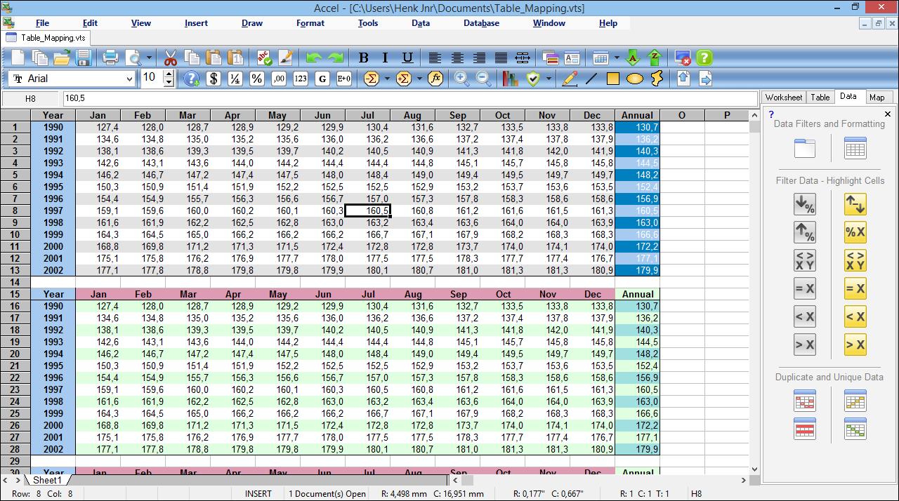 Free Spreadsheet Software In Accel Spreadsheet  Ssuite Office Software  Free Spreadsheet