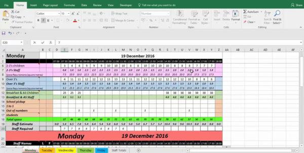 Free Staff Rota Spreadsheet Inside Rota Spreadsheet Template  Rota Template