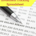 Free Stock Tracking Spreadsheet Pertaining To An Awesome And Free Investment Tracking Spreadsheet