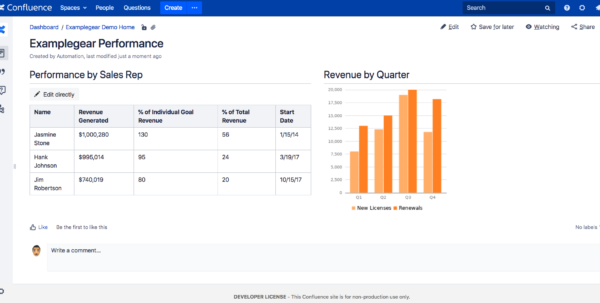 Free Trial Excel Spreadsheet Within Excel For Confluence  Atlassian Marketplace Free Trial Excel Spreadsheet Google Spreadsheet