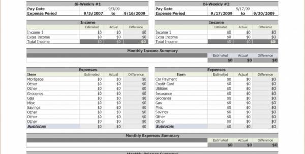 Free Weekly Budget Spreadsheet For Worksheet Bi Weekly Budget Spreadsheet Picture Of Google Docs