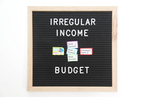 Freelance Budget Spreadsheet Inside How Freelancers Can Budget On An Irregular Income  Squawkfox