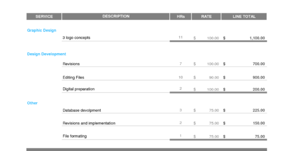 Freelance Spreadsheet Throughout Billing Invoices Templates And Freelance Designer Invoice Template