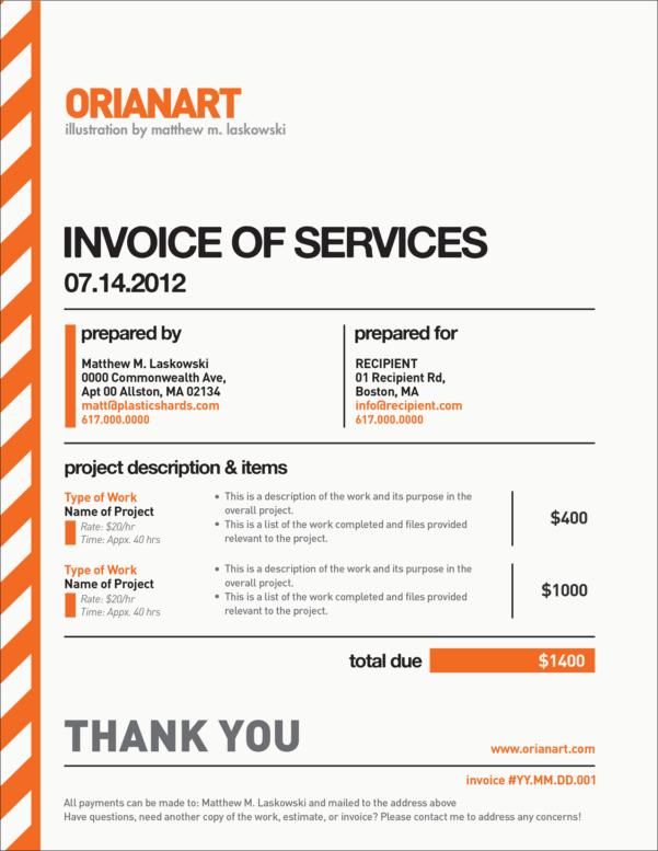Freelance Spreadsheet Work For Work Invoice Template Free Luxury Fresh Freelance Hourly Invoice