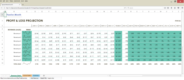 Front End For Excel Spreadsheet Inside How To Import/export Excel Spreadsheets Using Javascript  Spreadjs