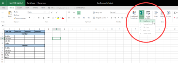 Front End For Excel Spreadsheet Throughout Use Microsoft Forms To Collect Data Right Into Your Excel File