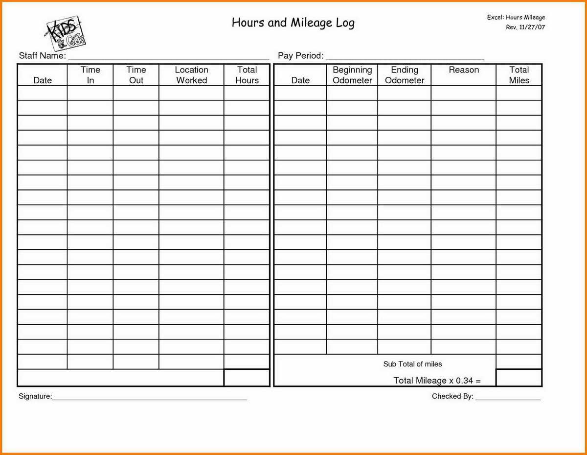 Fuel Log Excel Spreadsheet Inside Mileage Log Form Template Uk Ledger Sheet Google Sheets Excel