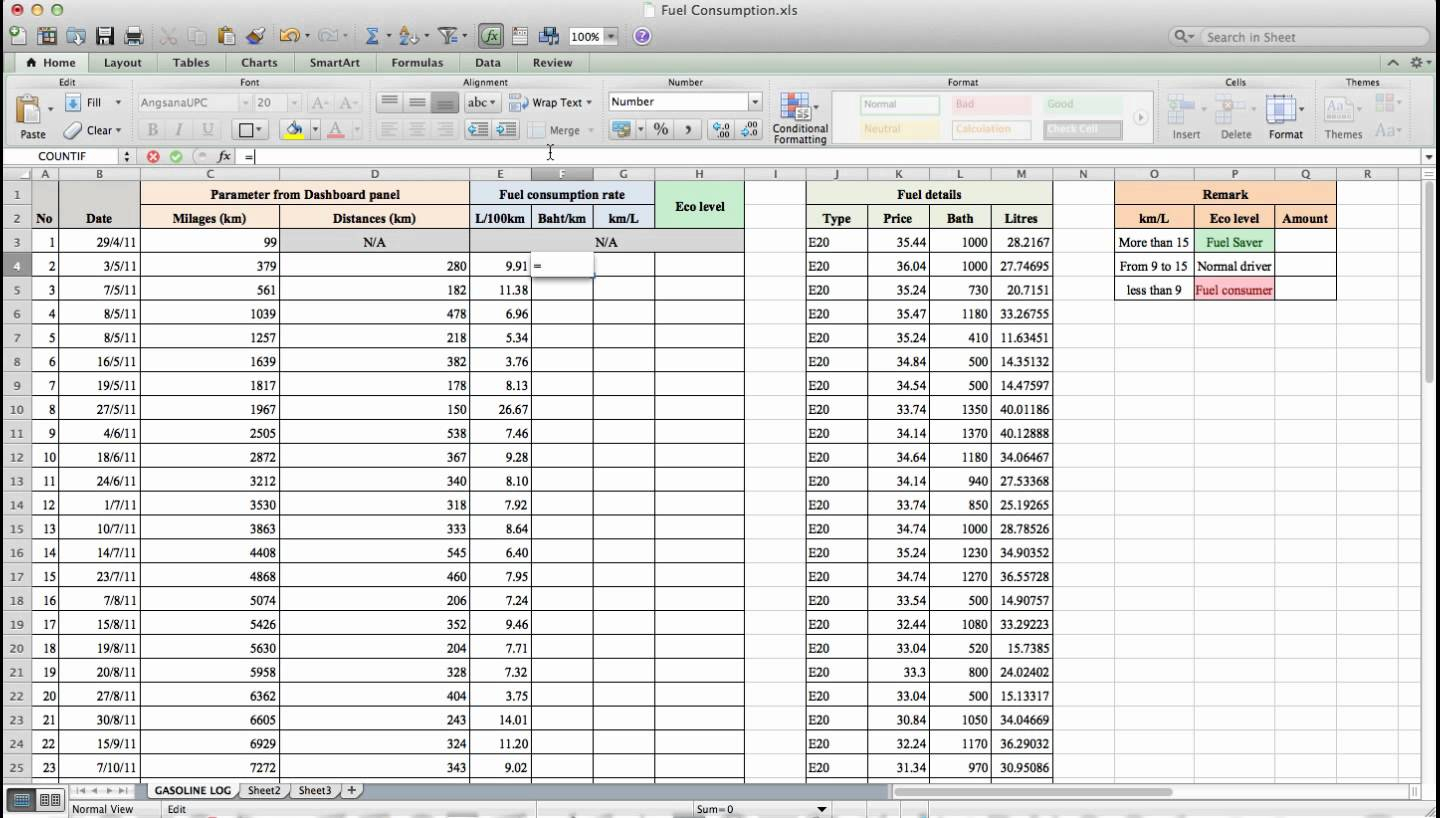 Fuel Spreadsheet In Example Of Water Efficiency Calculator Spreadsheet Maxresdefault How