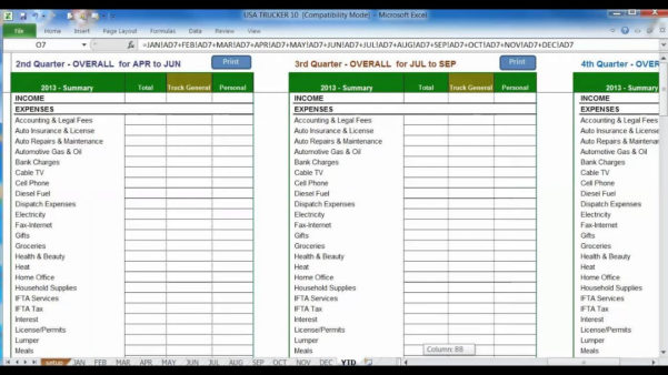 Fuel Tracking Spreadsheet Pertaining To Ifta Spreadsheet Mileage Excel Free Sample Worksheets Sheet
