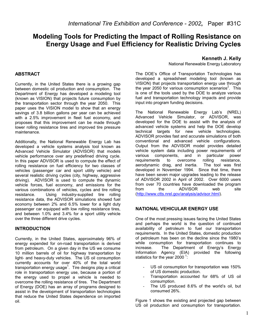 Fuel Usage Spreadsheet Regarding Impact Of Improved Fuel Economy On Reducing Oil Consumption