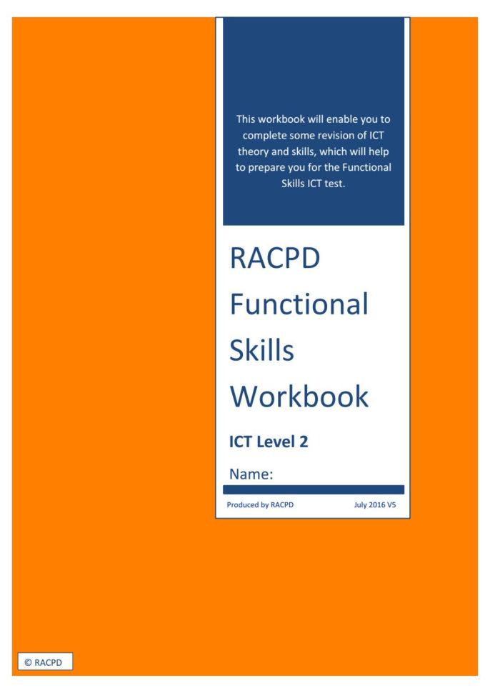 Functional Skills Ict Level 2 Spreadsheet Pertaining To Fs Ict Workbook V5Jane  Issuu