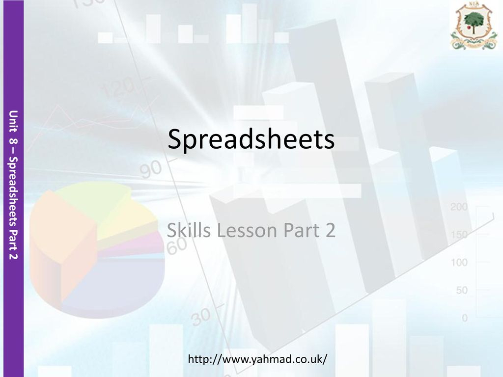 Functional Skills Ict Level 2 Spreadsheet With Spreadsheets Skills Lesson Part Ppt Download