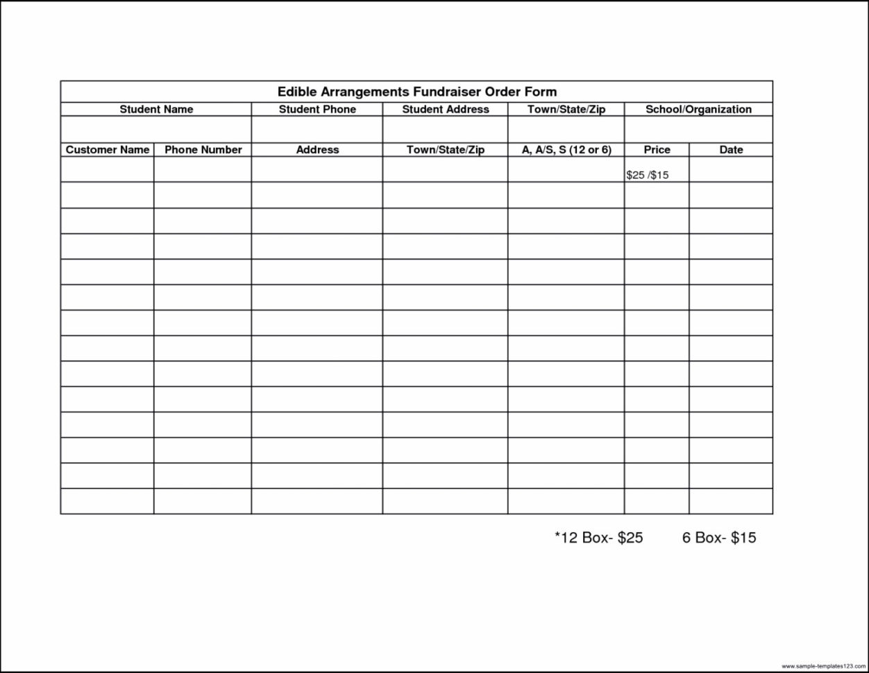 Fundraising Spreadsheet Template With Template Samples Donation Form Word Fundraising Sheet Request