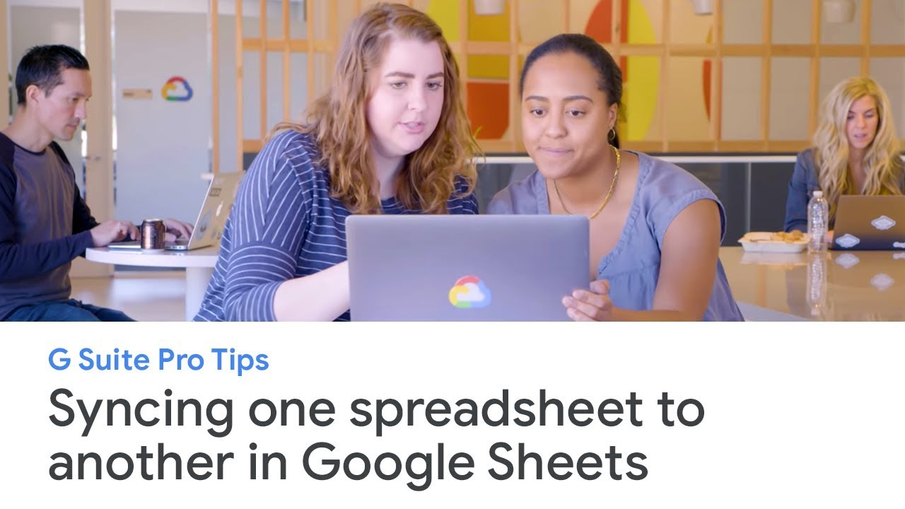 G Suite Spreadsheet Intended For G Suite Pro Tips: How To Sync One Spreadsheet To Another In Google